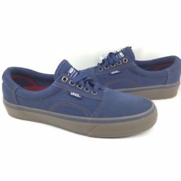 5bae1779ae Vans Men s Rowley Solos Navy Shoes